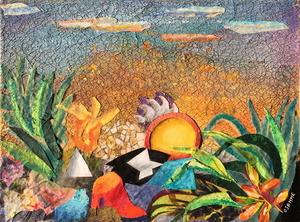 OSANNE - Pintura - L'ile perdue
