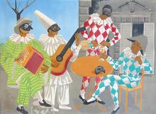 吉诺·塞维里尼 - 版画 - The Carnival | Il Carnivale