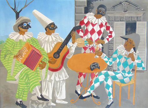 Gino SEVERINI - Print-Multiple - The Carnival   Il Carnivale