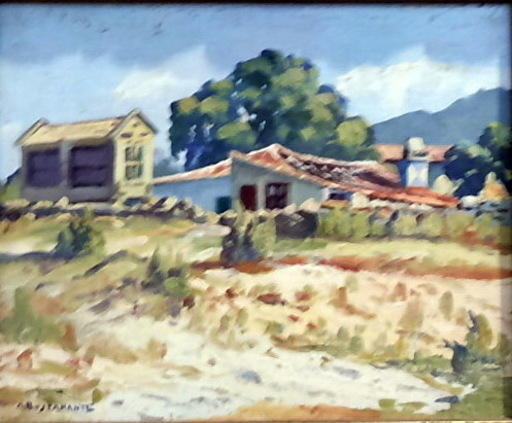Abelardo BUSTAMANTE ALVARADO - Painting - horreo