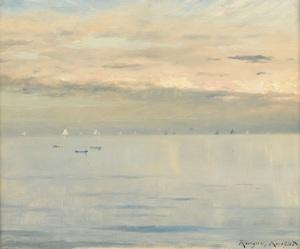 Daniel Ridgway KNIGHT - Painting - Marine