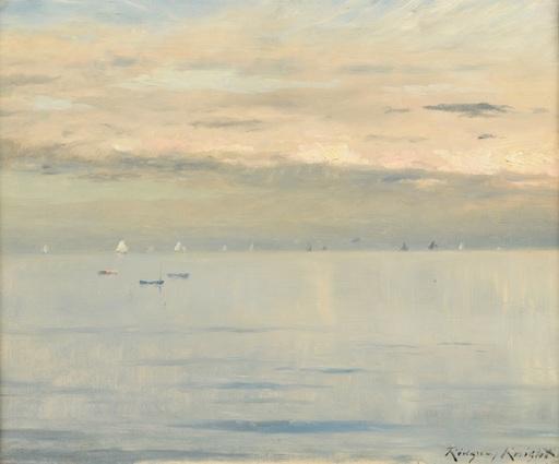 Daniel Ridgway KNIGHT - Gemälde - Marine
