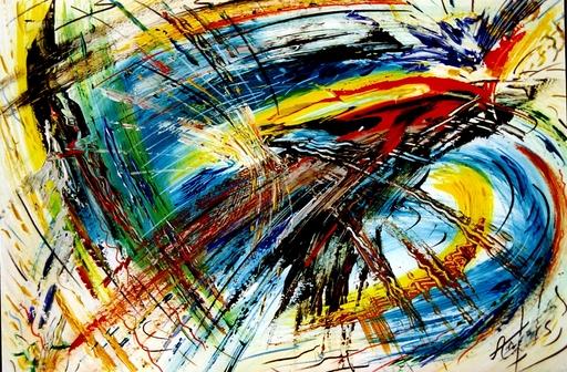 Didier ANGELS - Peinture - Fusion n°4