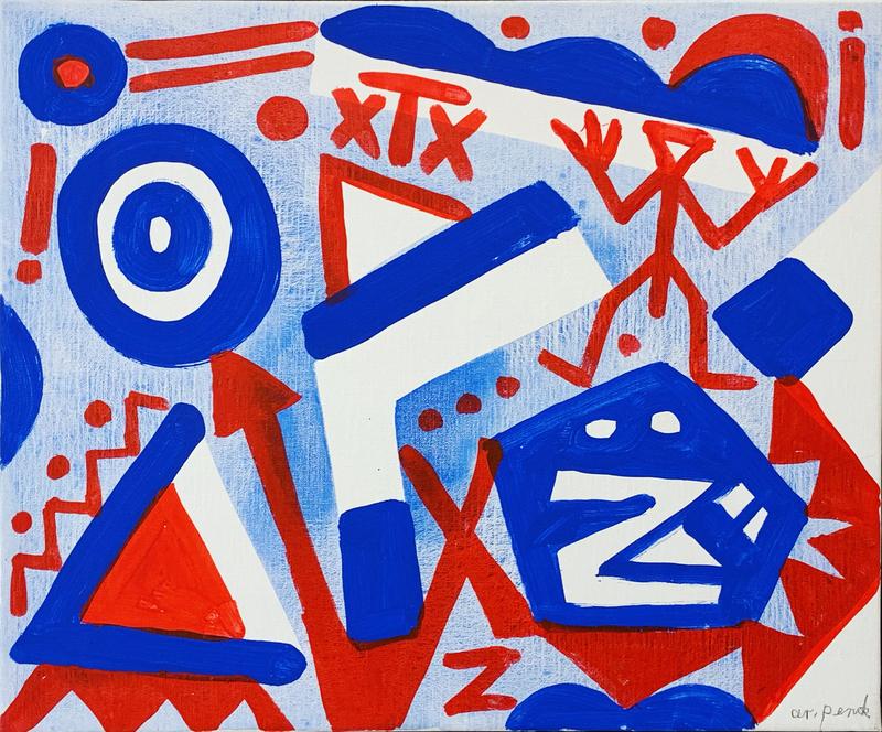 A.R. PENCK - Peinture