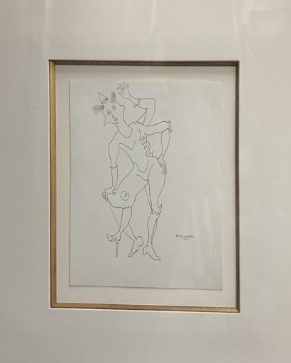 René PORTOCARRERO - Painting - Jester
