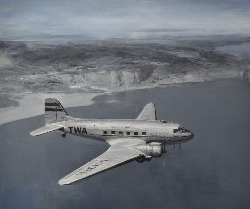 Alexey ALPATOV - Painting - DC-3