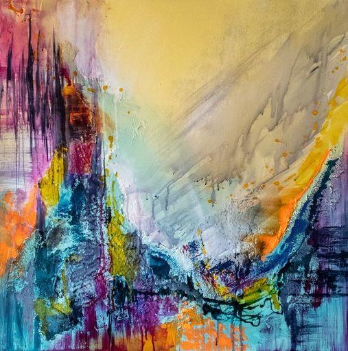 Françoise DUGOURD CAPUT - Painting - Kaleidoscope