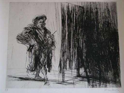 Claude WEISBUCH - Print-Multiple - GRAVURE SIGNÉE AU CRAYON ANNOTÉE EA HANDSIGNED EA ETCHING