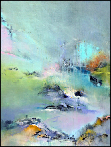Martine BONNAMY - Peinture - L'autre rive