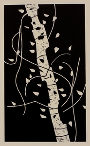 Alex KATZ, Large Birch