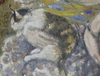 Georges MANZANA-PISSARRO - Gemälde - L'Orientale au Chat