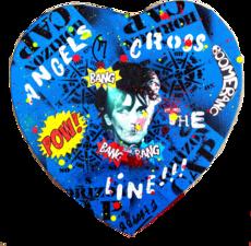 Ethan BANG-BANG - Pintura - Angels Cross the Line - blue