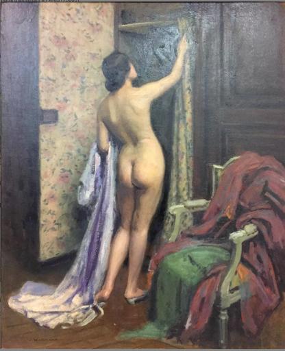 Jacques WEISMANN - Gemälde - Nu