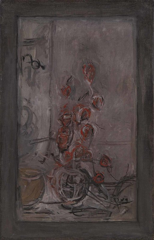 Alberto GIACOMETTI - Painting - Bouquet