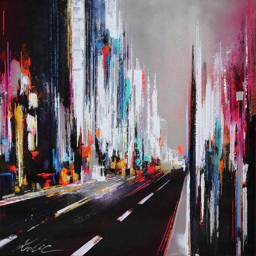Leslie BERTHET LAVAL - Peinture - N29 - Cité Urbaine