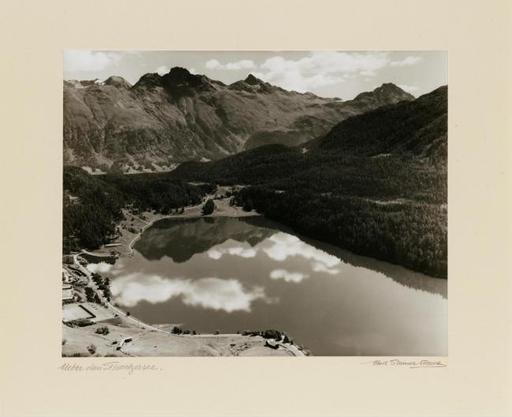 Albert STEINER - Fotografie - Über dem Stmoritzersee