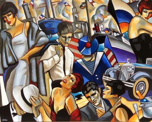 Stéphane GISCLARD - Pintura - Escale 347