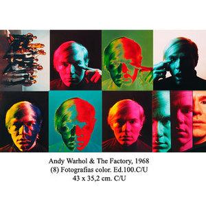 Philippe HALSMAN - Fotografia - Carpeta Andy Warhol