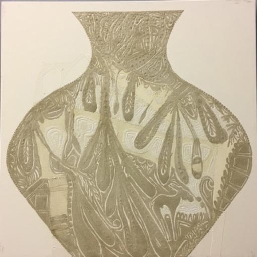 Fathi HASSAN - Peinture - Contenitore di luce