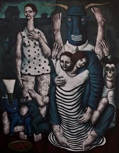 Nicolas MONJO - Painting - Repli