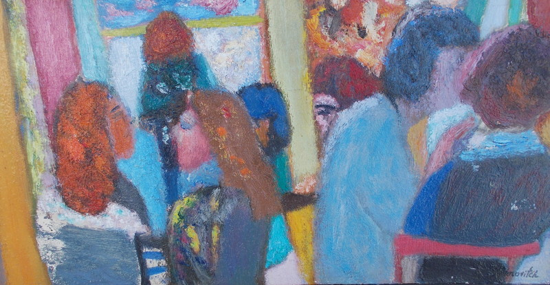 Miloje TODOROVITCH - Peinture - Le café