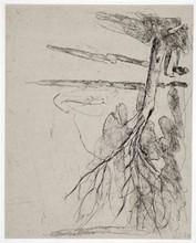 Georg BASELITZ - Estampe-Multiple - aus der Serie Bäume