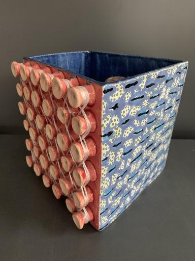 "Olesіa DVORAK-GALIK - Skulptur Volumen - Box for Spool (from the series ""Spools"")"
