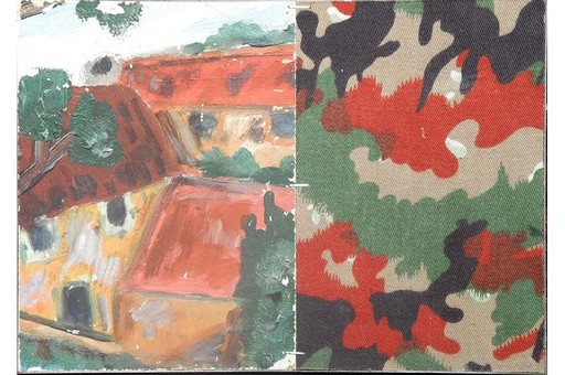 Pierre BURAGLIO - Painting - Duo Larinov