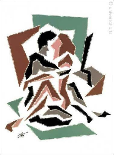 Jacqueline DITT - Estampe-Multiple - Sechs x Sex  (Position 1-6)  sechs Originalgrafiken Unikate