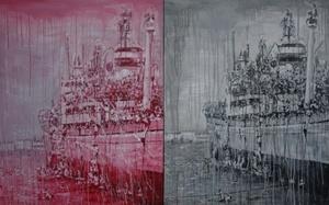 SHENG Qi - Pintura - Ship