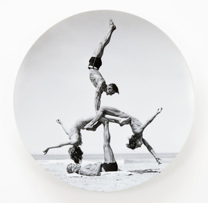 Jeff KOONS, Untitled (from the Popeye serie) plate