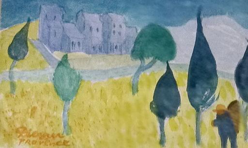 Gerhild DIESNER - Dessin-Aquarelle - Provence