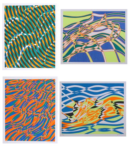 Stanley William HAYTER - Print-Multiple - Aquarius Suite