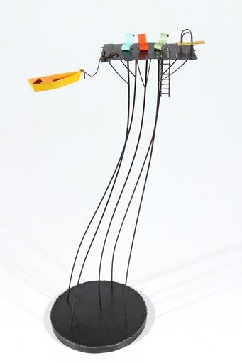 Frédéric LAVAUD - Escultura - À l'eau
