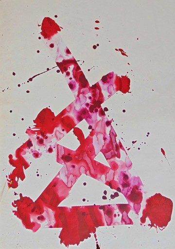Sam FRANCIS - Pittura - Untitled SF78-94