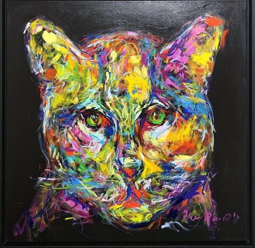 Nicole LEIDENFROST - Gemälde - Miezekatze