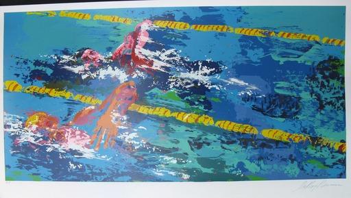 LeRoy NEIMAN - Print-Multiple - *Swimmer 1972