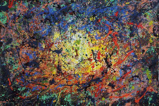 Antonino PULIAFICO - Gemälde - esplosione cosmica