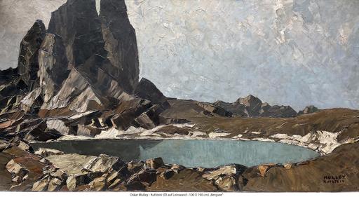 Oskar MULLEY - Peinture - Bergsee