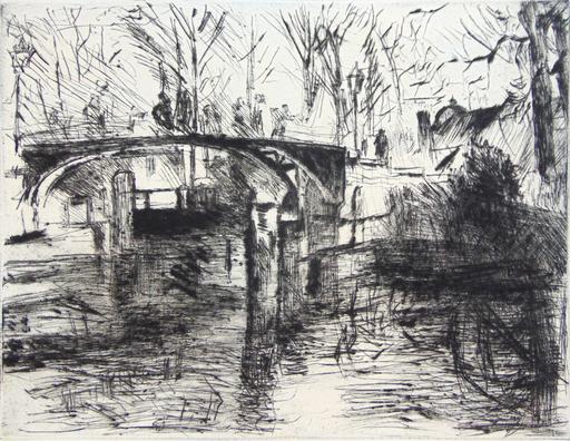 洛维斯·科林斯 - 版画 - View of the Tiergarten | Aus dem Tiergarten