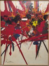 Georges MATHIEU - Peinture - Desespoir de lumiere
