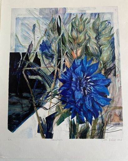 Gerda NIETZER - Estampe-Multiple - Flowers
