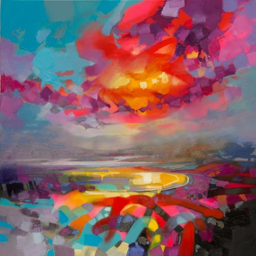 Scott NAISMITH - Painting - Neucleus