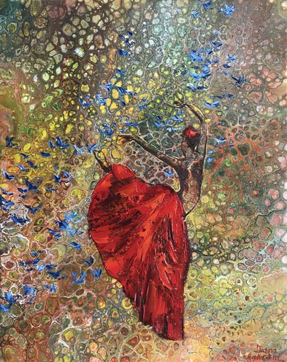 Diana MALIVANI - Gemälde - She Who Dances