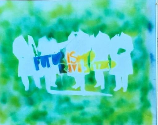 Mario SCHIFANO - Gemälde - Futurismo Rivisitato
