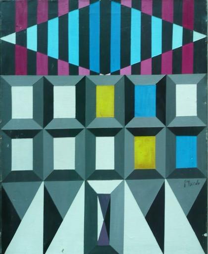 Genaro MORENO - Gemälde - sans titre