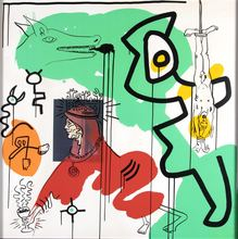Keith HARING - Stampa Multiplo - Untitled 9 - Apocalypse