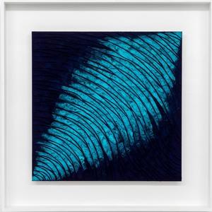 Marco ABBAMONDI - Painting - Lands pure pigment turquaise