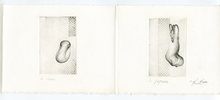 Fred DEUX - Print-Multiple - 3 GRAVURES EN TRIPTYQUE SIGNÉ CRAYON 3 HANDSIGNED ETCHINGS