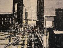David TYCHO - Painting - Urban Rhapsody